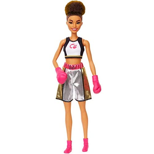 Barbie Boxer Doll, Brunette Wearing, Boxing Outfit featuring...