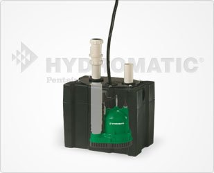 - Hydromatic 118A Packaged Sump System, Assembled, Featuring V-A1 Submersible Sump Pump