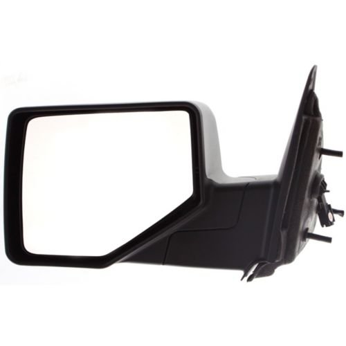Make Auto Parts Manufacturing - Driver Side Power Door Mirror For Ford Ranger 06-11, Left Side Rear View Mirror, Without Heated Glass, Black Textured Exterior Mirror FO1320282