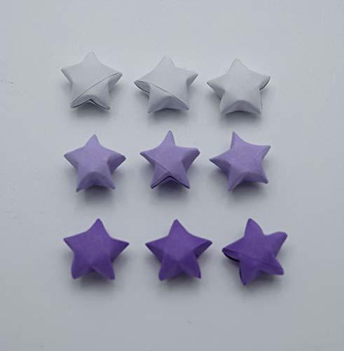 Gorgeous Jewel Tone Origami Lucky Stars-Metallic Wishing StarsHome DecorParty SupplyGift FillersConfettiEmbellishment