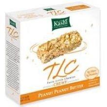 Kashi Peanut Peanut Butter TLC Chewy Granola Bar, 7.4 Ounce - 72 per case. (Kashi Butter Peanut)