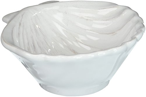 Slightly Distressed Small Clam Shell Shaped Bowl