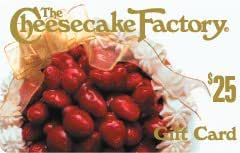 The Cheesecake Factory Gift Card Collection