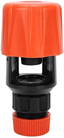 ユニバーサル水コネクタ、ガーデンホースパイプ蛇口アダプター、キッチン、バスルーム、ガーデン用ユニバーサル水タップ散水灌漑ツール(オレンジ)