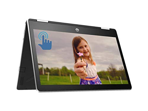 HP Pavilion x360 Premium 2 in 1 Laptop Computer, Intel Quad-Core Pentium Silver N5000 Processor, 11.6″ HD IPS Touchscreen, 4GB DDR4 128GB SSD, HD Camera B&O USB-C HDMI WiFi BT 4.2 Win 10 (Renewed)