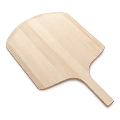 New Star Foodservice 50332 26-Inch Wooden Pizza Peeler with 16-Inch by 18-Inch Blade