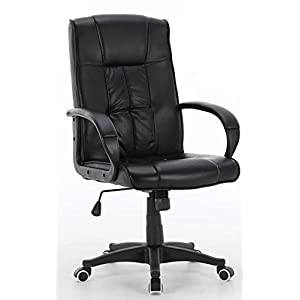 Millhouse Executive Office Chair, Durable and Stable, Height Adjustable X2849 (Stilo Black)