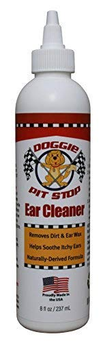 Cats Dogs Mites Ear (Doggie Pit Stop Dog & Cat Ear Cleaner, Infection Treatment Prevention, Helps to Stop Itching, Head Shaking, Discharge & Odor, Ear Mites, Dog & Cat Ear Wash & Wax Remover, Ear Symptom Relief 8 oz   )