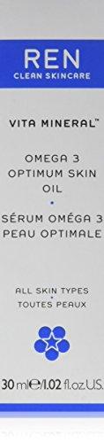 REN Vita Mineral Omega 3 Optimum Skin Oil, 1.02 Ounce