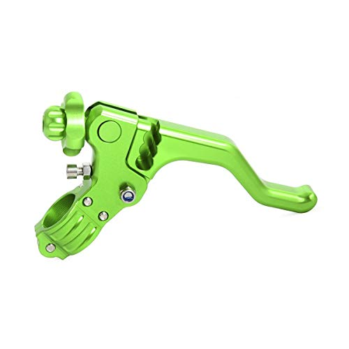 (Motorcycle Clutch Lever CNC Short Stunt Clutch Lever Perch For Motorcycle Bike With Cable Clutch Left for Honda For Yamaha)