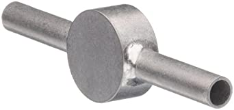 STC-18/2 Stainless Steel Hypodermic Tube Fitting, Coupler, 18 Gauge