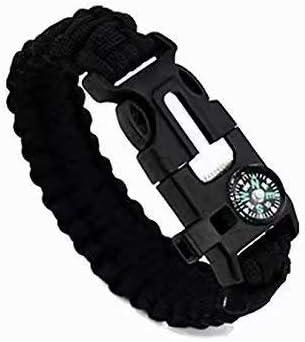 1pc Strand Supervivencia Militar pulsera de la cuerda de la armadura de la hebilla: Amazon.es: Bricolaje y herramientas