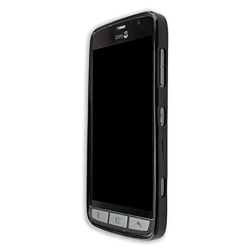 caseroxx TPU-Case for Doro Liberto 825/824 with Shock Protection, Colored in Black, Composed of TPU from MarattLLANGKY
