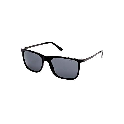Kenneth Cole Reaction Men's Classic Black Square Sunglasses
