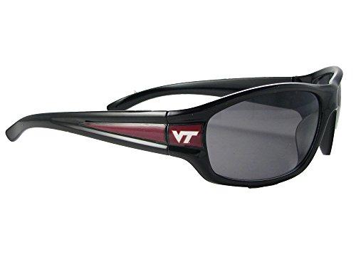 Virginia Tech Hokies VTU Mens NCAA Black Sport Sunglasses - Sunglasses Tech Virginia
