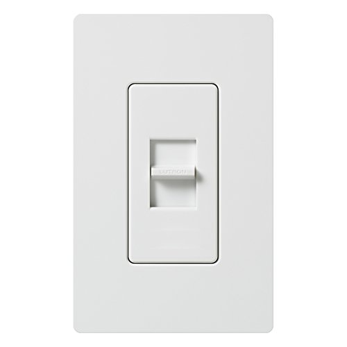Lutron LG-600H-WH 600W Slide-To-Off Dimmer, White