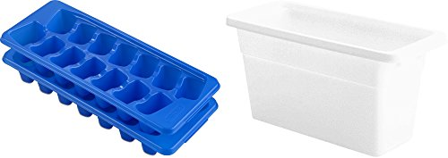 Sterilite Blue Stacking Cube Trays