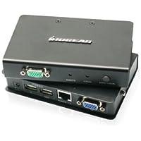 IOGEAR USB 2.0 VGA KVM Console Extender GCE500U (Grey)