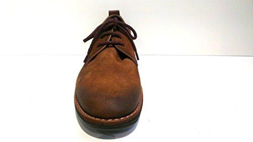 Pikolinos Schnürschuh, Antikvelour tan, herausnehmbares Fußbett für eigene lose Einlagen, 07N-6266S