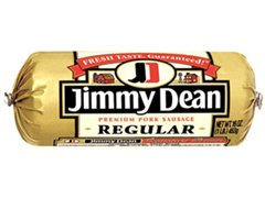 JIMMY DEAN PORK SAUSAGE PREMIUM ROLL ORIGINAL 16 OZ PACK OF 3