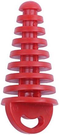 Rojo Bestlymood Silenciador Tubo Silenciador de Escape Tap/óN de Lavado para Motocicleta Dirt Bike ATV Quad 2 4 Tiempos