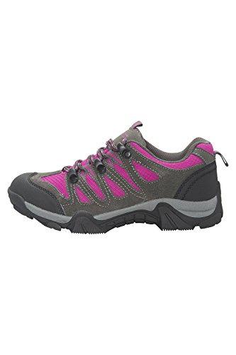 Mountain Warehouse Cannonball Kinder Wander Walking Schuhe Wanderschuhe Urlaub Brand Neu Helles rosa 33