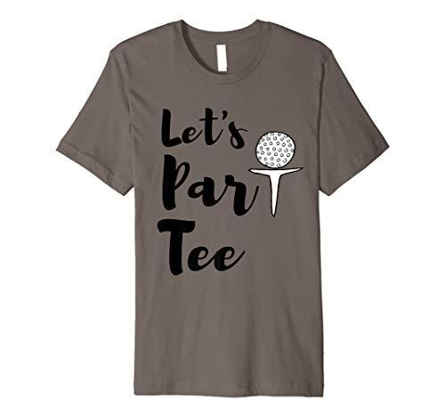 Funny Cute Golf Shirt Let