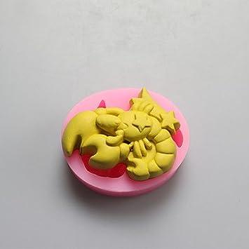 FPP Scorpio forma Chocolate moldes, moldes de silicona, jabón Moldes, Herramientas de decoración: Amazon.es: Hogar