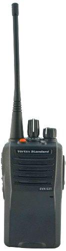 Vertex EVX531-G7UNEP Business/Industrial DMR Digital/Analog Portable UHF Universal Radio Package (Black) by Vertex Standard