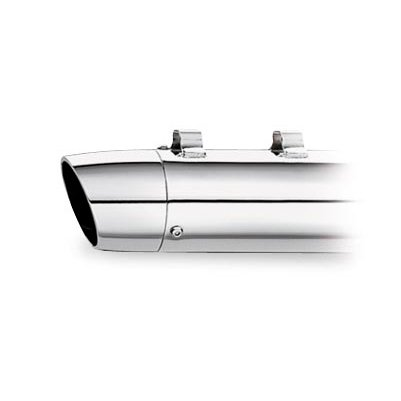 Kerker Slip-Ons and Systems/SE Series Billet End Caps - Tapered Slash