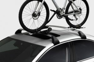 Genuine Volvo OEM Upright Bicycle Carrier