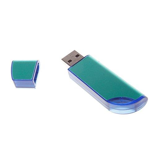 USB Storage Disk Plastic Blue 4GB