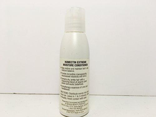 Nexxus Phyto Organics Humectin Travel Size 2 oz Pack of 4 - Free Starry Sexy Lip Plumping Gloss 10ml by Nexxus (Image #1)