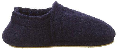 NangaLea - pantuflas Bebé-Niñas Azul - Blau (Blau 32)