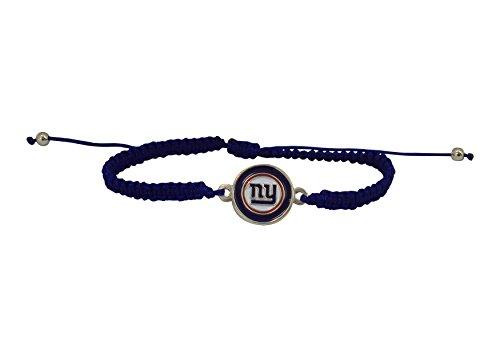 NFL New York Giants Braided Logo Bracelet ()