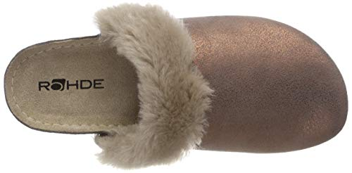 Braun Pantoufles Rohde 39 Kupfer Femme Riesa 78txf0P