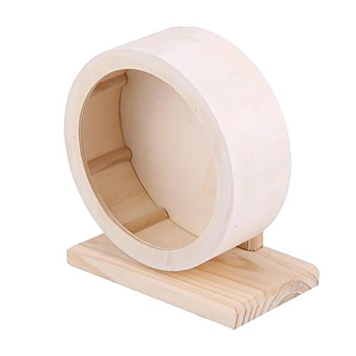 (Yosooo Small Animals Exercise Wheel Hamster Pets Wooden Rest Nest Playing Toy(S))