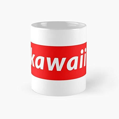 Kawaii Mug, supreme Tea Cups, 11 Ounce Ceramic Mug, Perfect Novelty Gift Mug, Funny Mugs Gift, Funny Coffee Mug 11oz, Tea Mugs ()