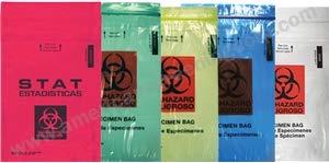 Biohazard Specimen Bags (1000/Case)-Description - STAT
