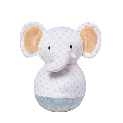 Chime Roly Poly - Manhattan Toy Playtime Plush Toy, Roly Poly Elephant