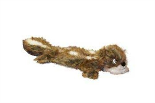 Plush Puppies Plush Real Animal Long Body Squirrel Squeaker Mat, 6 x 29-Inches, My Pet Supplies