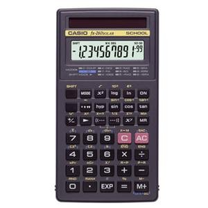 Casio FX-260 Solar Scientific Calculator School Version (Fraction Key is Not Operable) by CASIO COMPUTER CO.,LTD