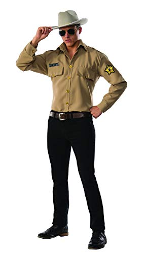 Pizazz! Men's Sheriff, Brown, Large]()