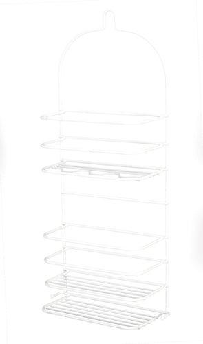 Grayline 41177, 3 Shelf Extra Large Shower Caddy, White
