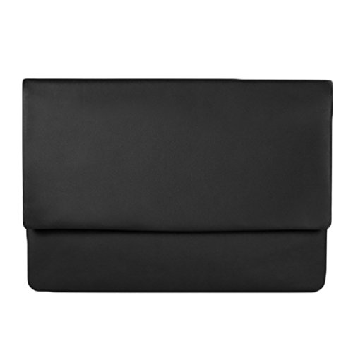 YiJee Air La 11 Pulgadas de Funda 13 Macbook 6 para 3 Macbook PU 13 Air Cuero Negro Inch Impermeable Pro PArw1PFqYS