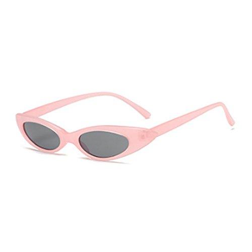 Dintang de ovales Eye et Vintage soleil Poudre Designer soleil lunettes de femmes Noir Boîte Hommes Petites Lunettes À Gris Cat rr0wOq