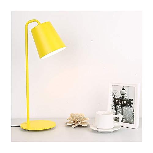 WYGGQAQ Lámpara de Mesa de Hierro Estilo nórdico Creativo Moda ...