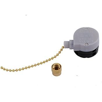 genuine zing ear ceiling fan pull chain speed control podoy ze 208d pull chain speed control switch for zing ear 3 speed 8 wire ceiling fan