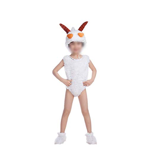 Children's Animal Performance Costumes Sheep Cartoon Halloween Cosplay,Lazy
