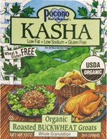 Pocono Whole Buckwheat Kasha Organic, 13 Ounce